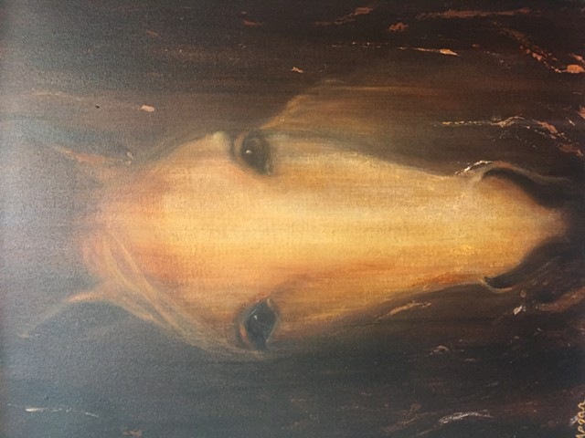 "Faded Horse 24""X18"""
