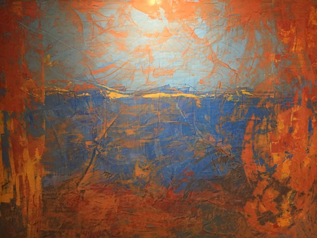 "KRISTOF KOSMOWSKI   [Abstract Series Medium]  Sizes 48"" x 48"" to 60"" x 48"""
