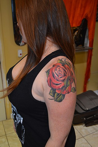 rose tattoo chris lowe naked art tattoos