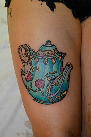 teapot tattoo chris lowe maryland