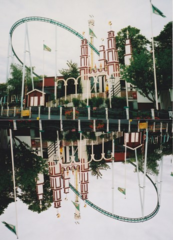 Jennifer McMackon, Fairy Castle, Now and Next Minute Upside Down Reversal Photograph, XpoSeptember, Konstakuten