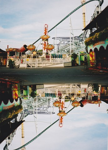 Jennifer McMackon, Untitled, Now and Next Minute Upside Down Reversal Photograph, Xpo September, Konstauten
