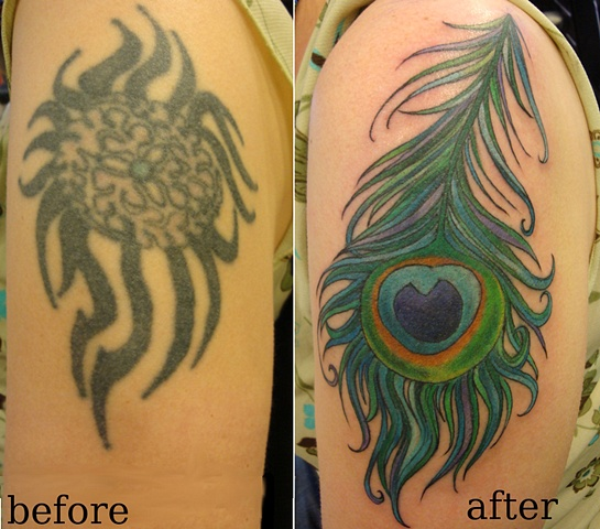 peacock coverup