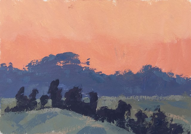 Dawn, Rose Hill