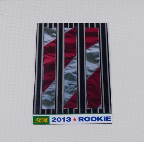 """2013 ROOKIE"" - Collage by Vashon Artist John Schuh"