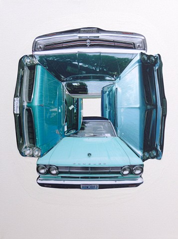 """RAMBLER"" - Photo Collage by Vashon Artist John Schuh"
