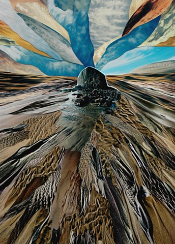 """Ascension"" - Photo Collage by Vashon artist John Schuh."