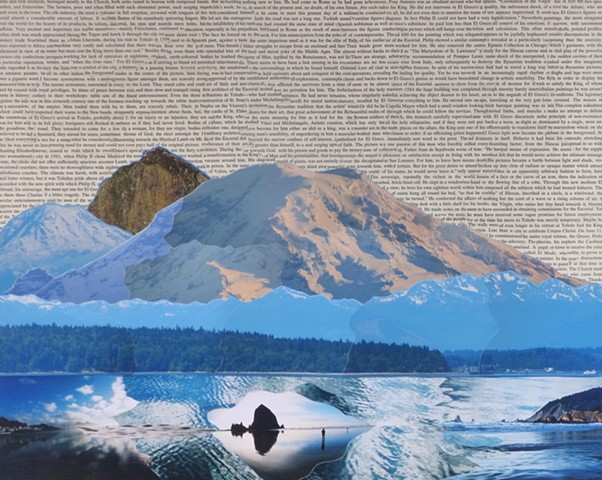 """world of giants"" - Collage by Vashon Artist John Schuh"