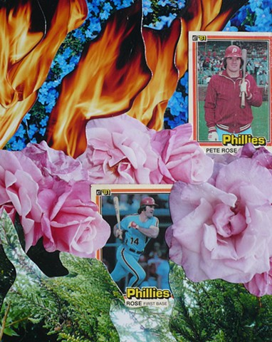 """Roses"" - Collage by Vashon artist John Schuh."