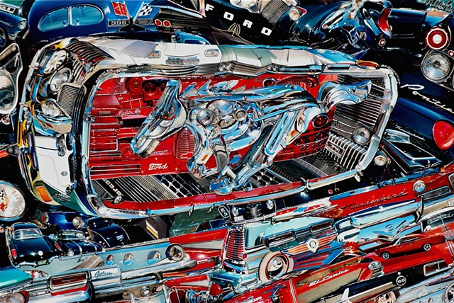 """Chrome"" - Photo Collage by Vashon artist John Schuh."