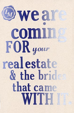 real estate brides