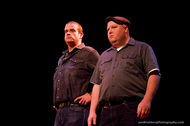 The Enforcers (Comfort counselors)- Eric Edelstein and Brendan Connor