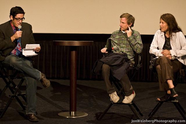 Spike Jonze, Catherine Keener & Joel Arquillos