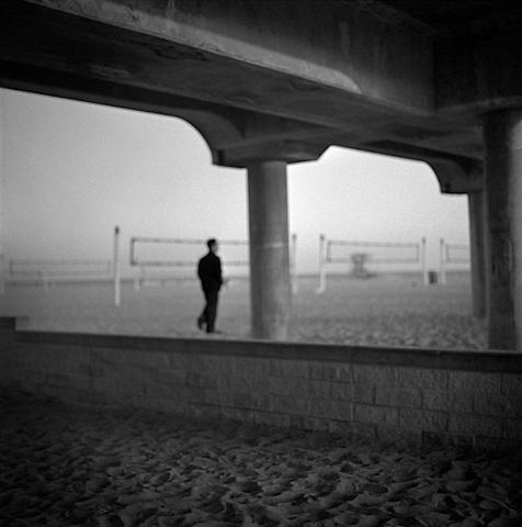 """"""" Man Under Pier """""""