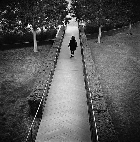 """ Woman on Path """