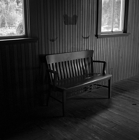 """ Wooden Bench """