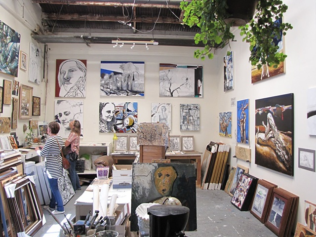 moving sale open studio