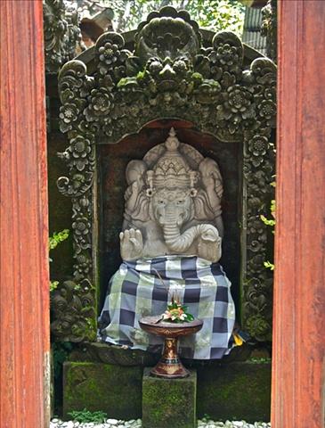 Ganesha in the Doorway