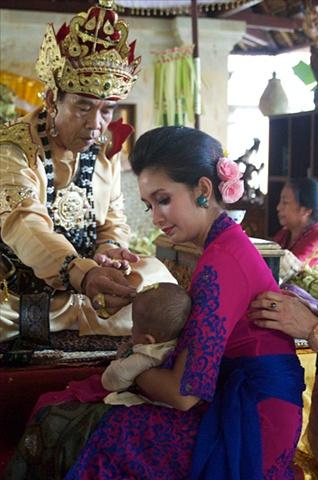 Baby naming Ceremony, Ubud