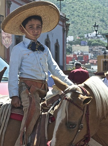 Young rider in Guanajuato