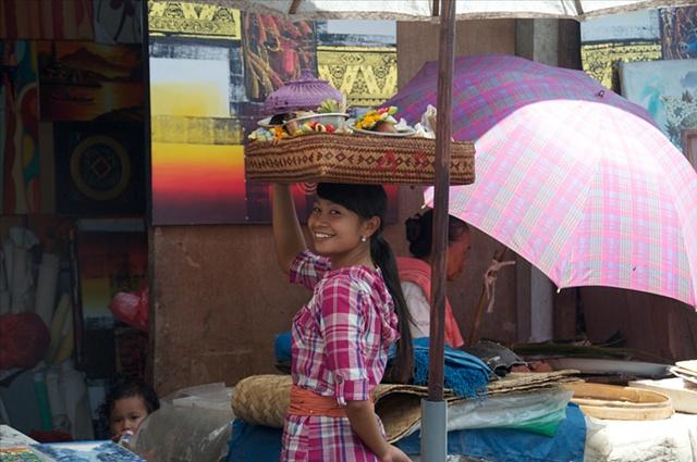 Girl in the market #2
