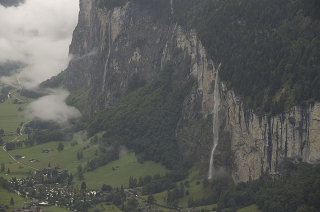 Valley below Wengen