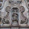 Church facade, Quito, Ecuador