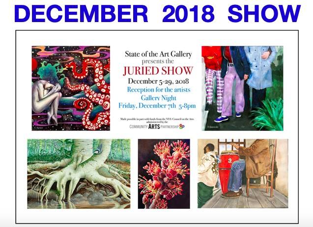 State of the Art Gallery 2018 Juried Show