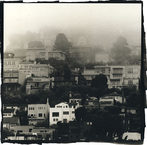 Foggy Stacks on Twin Peaks, San Francisco 2009