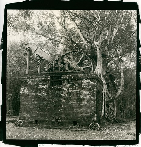 Abandoned Sugar Mill in the Jungle, Orange Walk, Belize