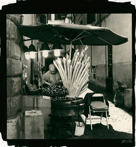 Chestnut Vendor, Rome