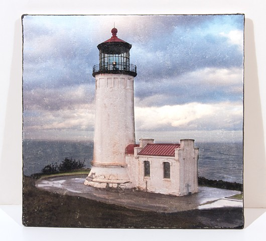 Lighthouse,  Pacific Co, WA  Image Transfer