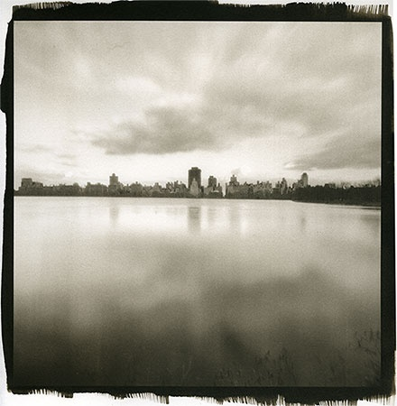 New York Skyline over Jacqueline Onassis Reservoir