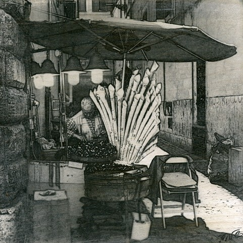 The Chestnut Vendor, Rome