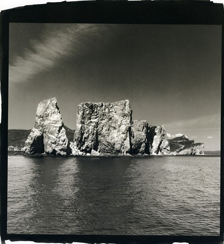 The Gaspé, Seascape, Percé Rock