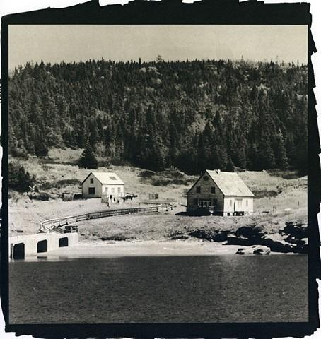 Gaspé, Pastoral, Seascape, Bonaventure Island
