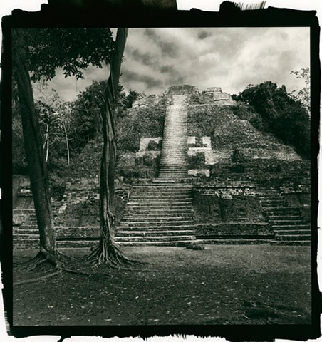 The High Temple, Lamanai Mayan Ruins, Orange Walk, Belize