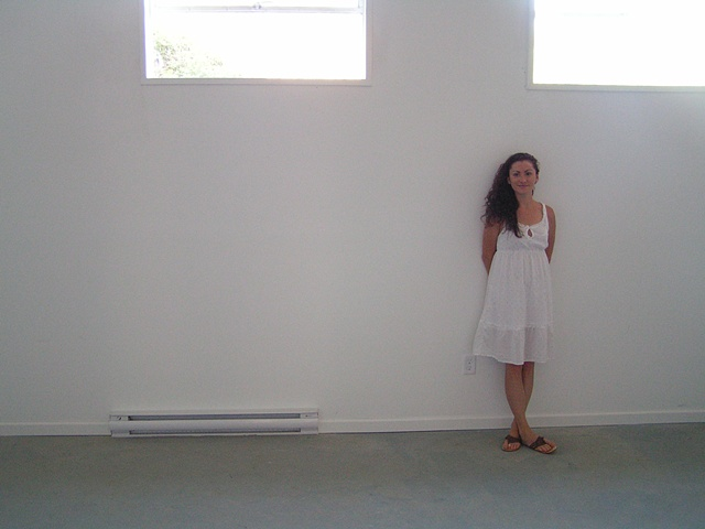 Before move in day at the studio, just a blank canvas...