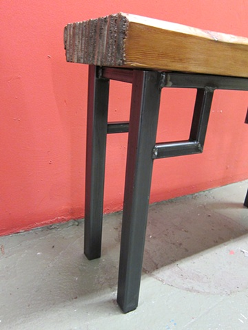 Bench Table - detail