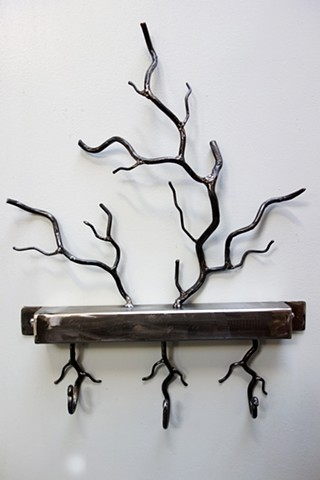 Steel Tree Branch Hooks