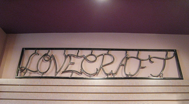 sign metal organic steel custom