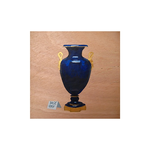 Cobalt Blue Vase, 1898, The White House
