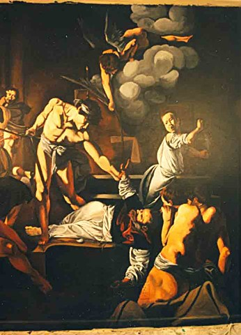 Martyrdom Of St. Matthew(detail)