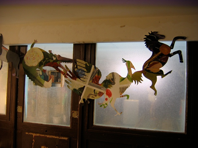 Animal Garland Installation Photo, Berlin, 2010