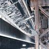Shanghai Riverside Textscape Installation Sailing through Shanghai Shipyard MIFA 1862 by Kengo Kuma