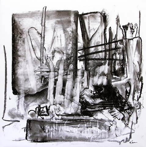 matthew stemler matt stemler artist charcoal drawing abstract