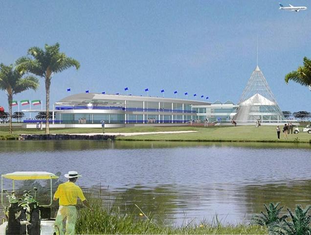 Kuwait International Golf Course Clubhouse