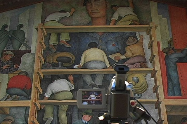 Diego Rivera in RGB