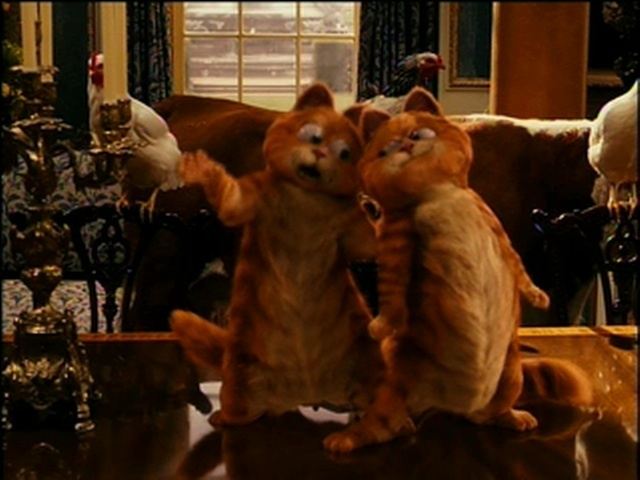 Garfield 2: A Tale of Two Kitties, Director and Writer's Commentary