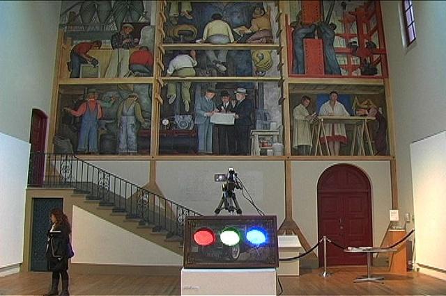 Diego Rivera in RGB